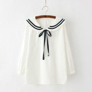 Japanese style sailor shirt 7