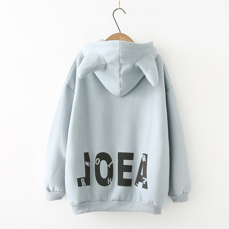 Arts and casual cashmere winter hoodie sweater 2