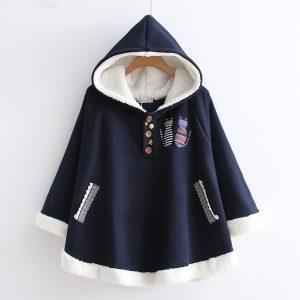 Hooded Bunny Student Jacket 1
