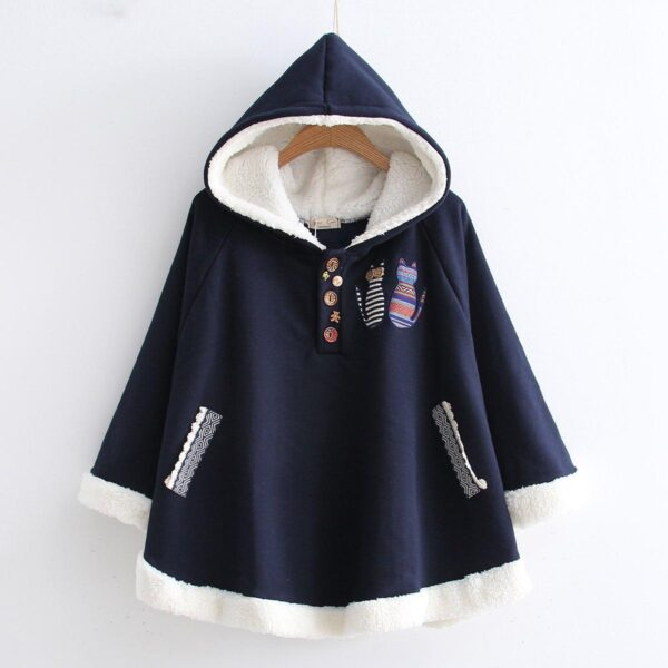 Hooded Bunny Student Jacket 13