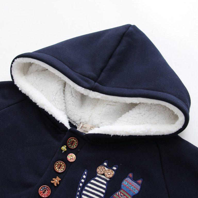 Hooded Bunny Student Jacket 3