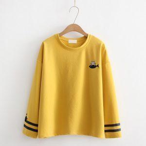 Mustard Cat t-shirt 5