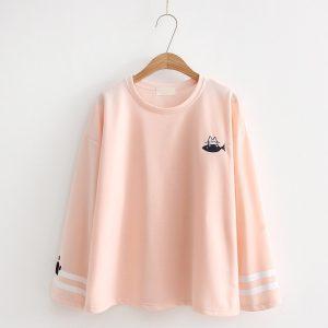 Pink Cat t-shirt 7