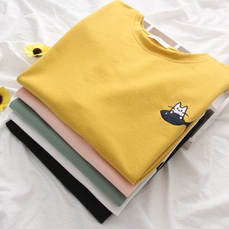Green Cat t-shirt 2