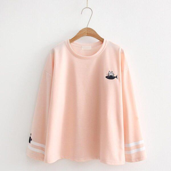Pink Cat t-shirt 9