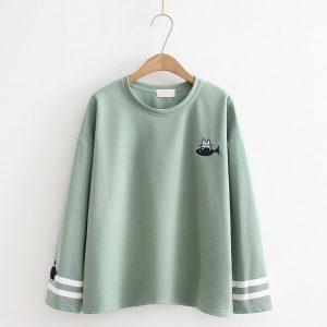 Green Cat t-shirt 4