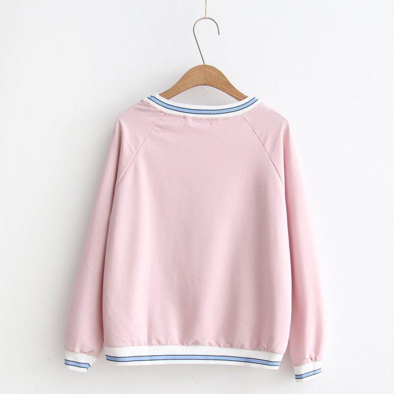 Cat Sweater Pink 2