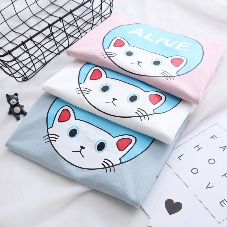 Cat Sweater White 5