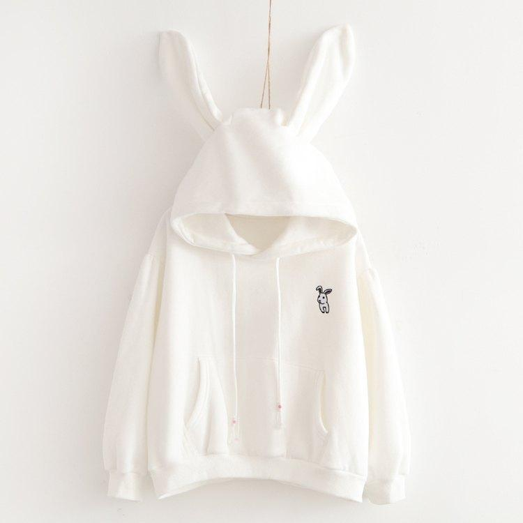 Japanese small rabbit cashmere sweater 1