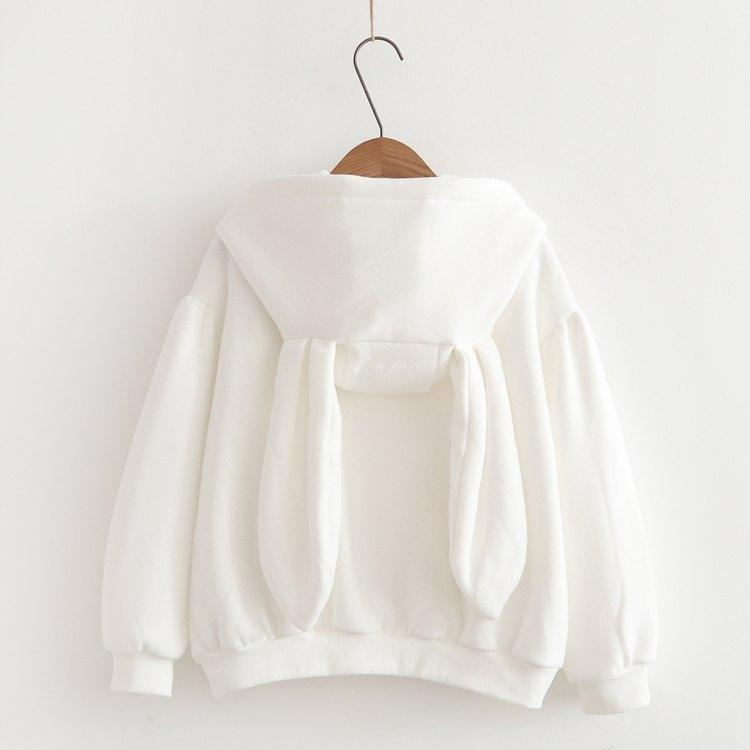 Japanese small rabbit cashmere sweater 2