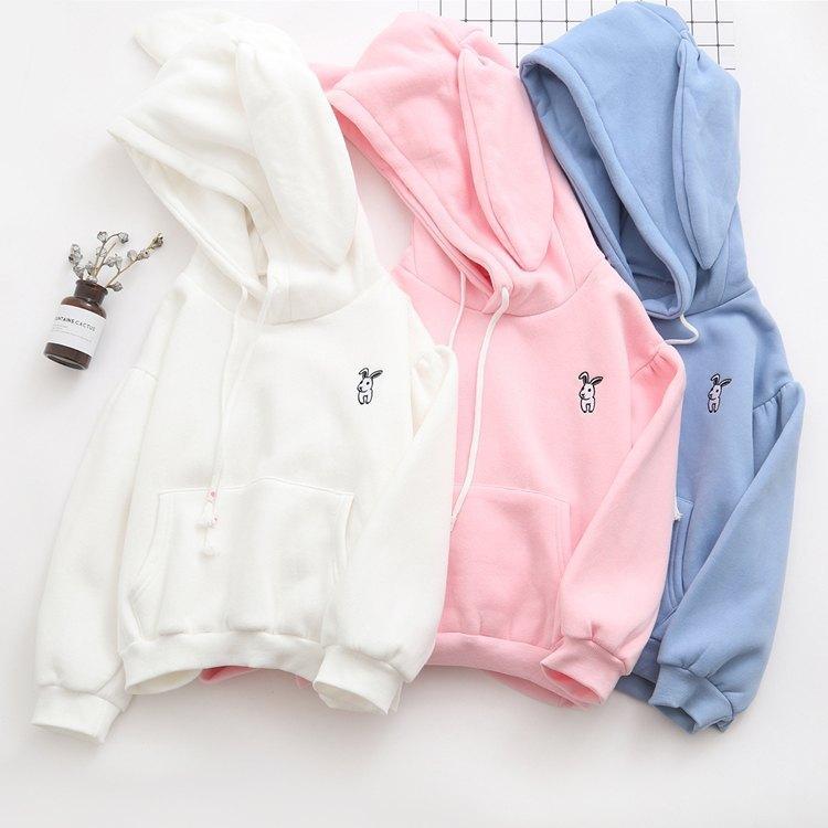 Japanese small rabbit cashmere sweater 3