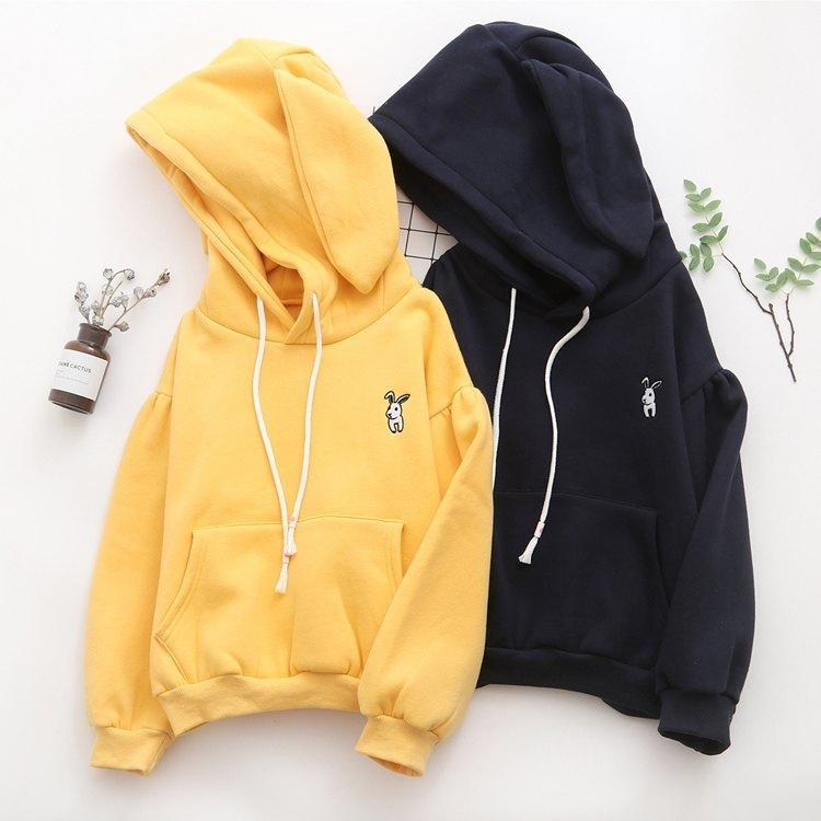 Japanese small rabbit cashmere sweater 5