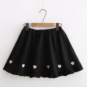 Japanese winter wool skirt 1