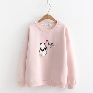 Panda  cashmere  sweater 2