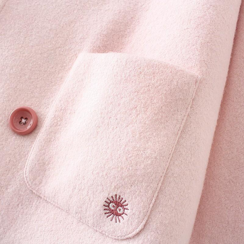 pink coat with ears 5