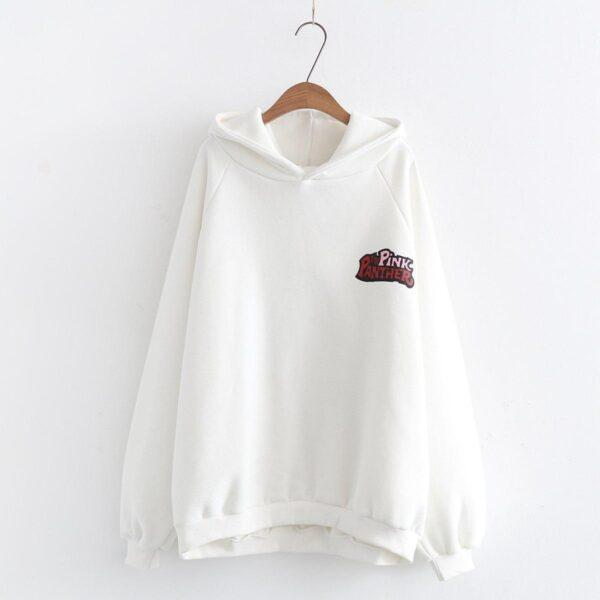 Japanese pink panther hoodies sweater 8