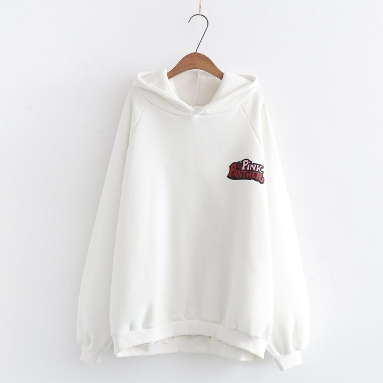 Japanese pink panther hoodies sweater 1