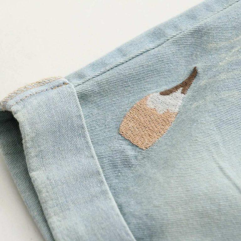Jean shorts fox dark blue 6