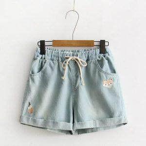Jean shorts fox light blue 2