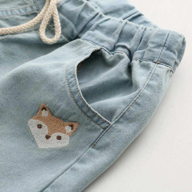 Jean shorts fox dark blue 4