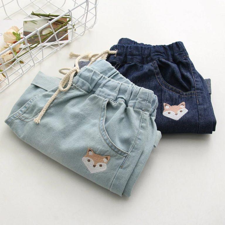 Jean shorts fox dark blue 2