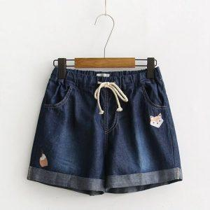 Jean shorts fox dark blue 3