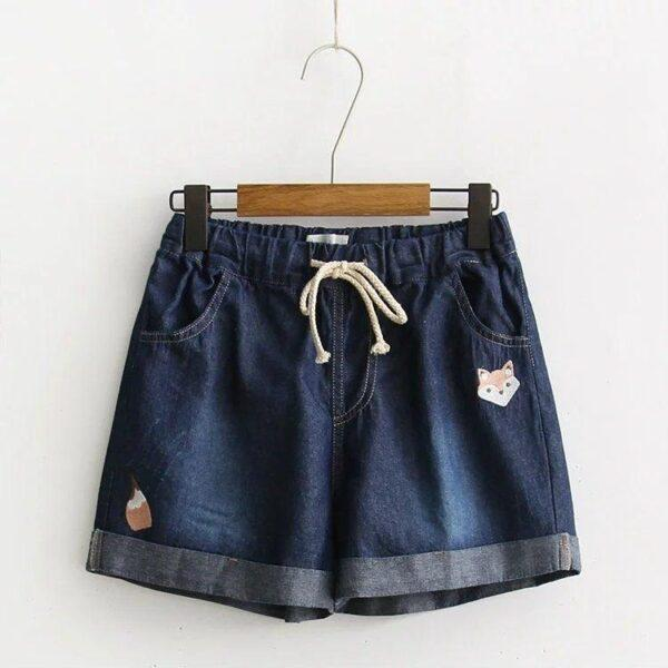 Jean shorts fox dark blue 5