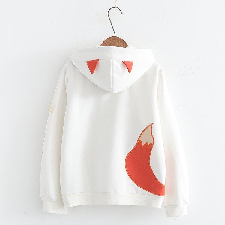 Japanese fox cashmere warm sweater 2
