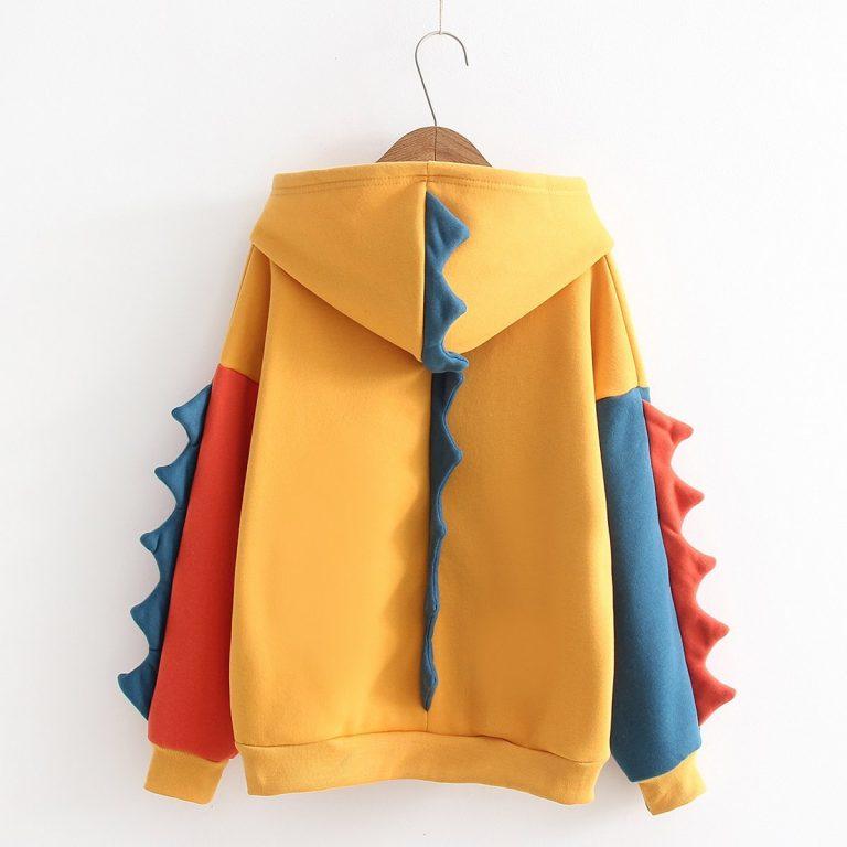 Mustard Chameleon sweatshirt 1