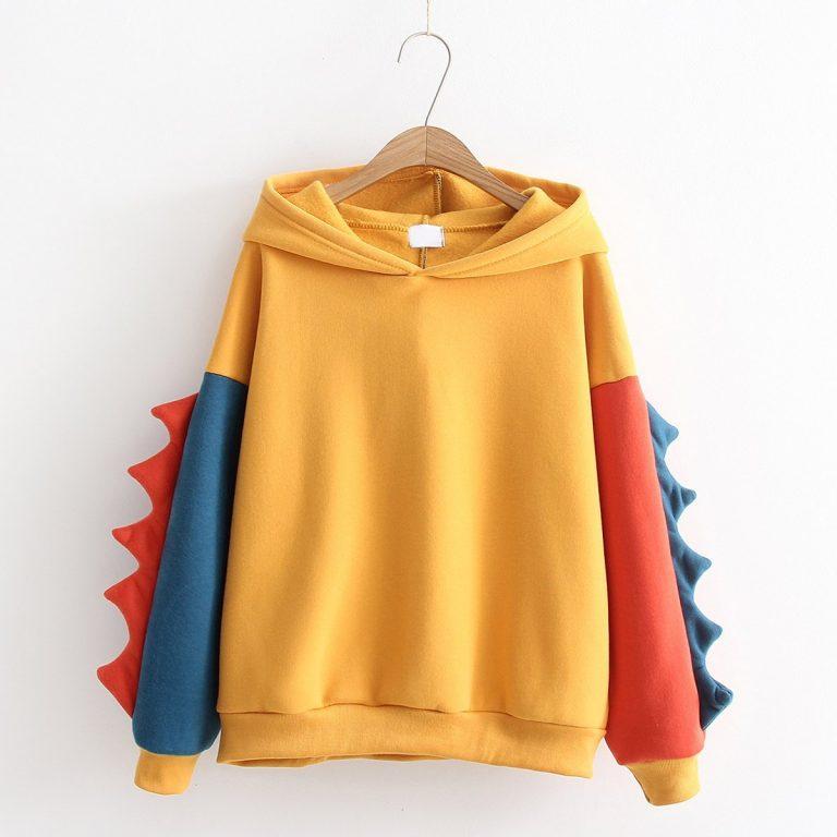 Mustard Chameleon sweatshirt 2