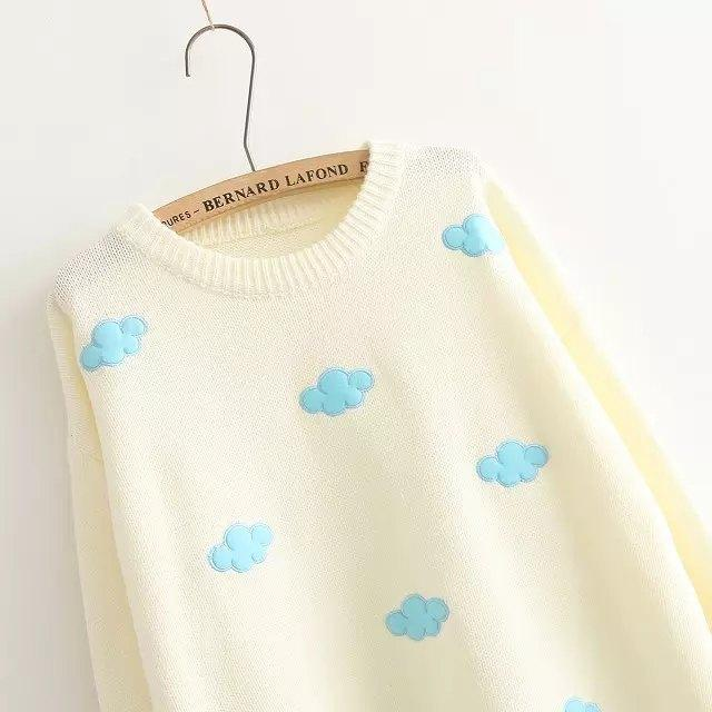 Sweater Sweet Cloud Beige Pink 6