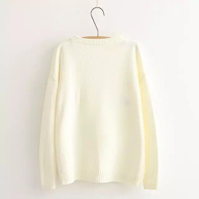 Sweater Sweet Cloud Beige Pink 4