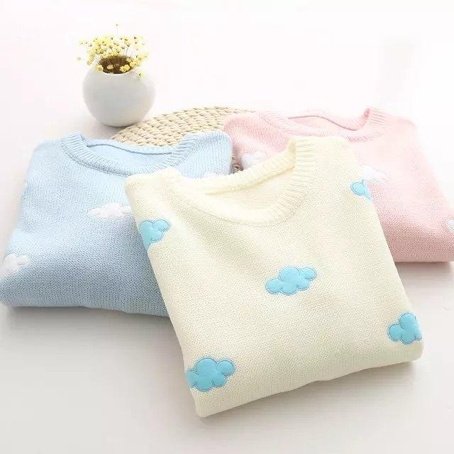 Sweater Sweet Cloud Beige Pink 3