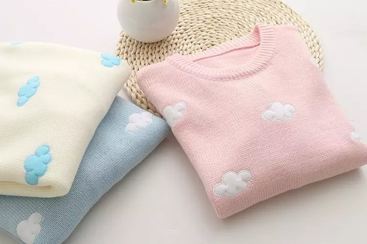Sweater Sweet Cloud Beige Pink 2