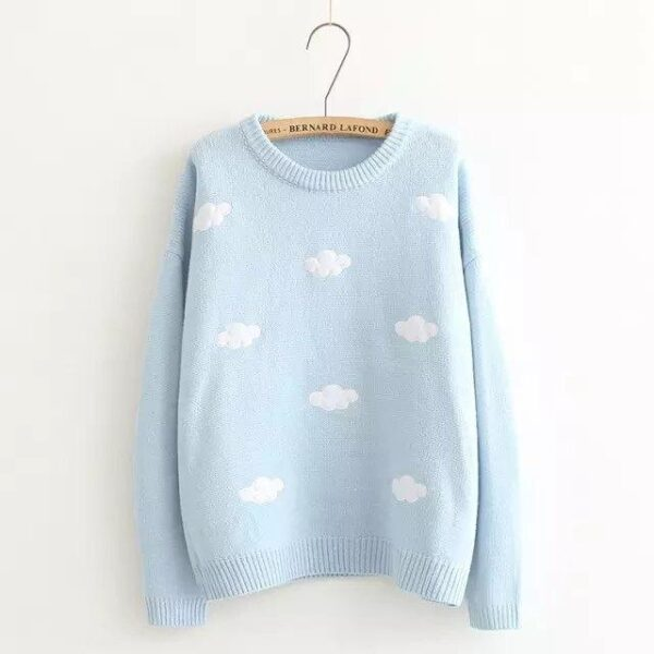 Sweater Sweet Cloud Blue 21