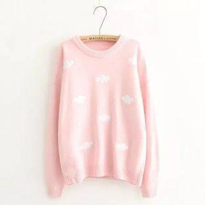 Sweater Sweet Cloud Beige Pink 15