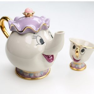 Tea set of Mrs. Potts and Chip - The Beauty and The Beast 4