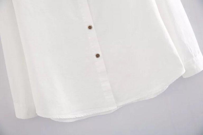 Camisa blanca de conejito y zanahoria 4