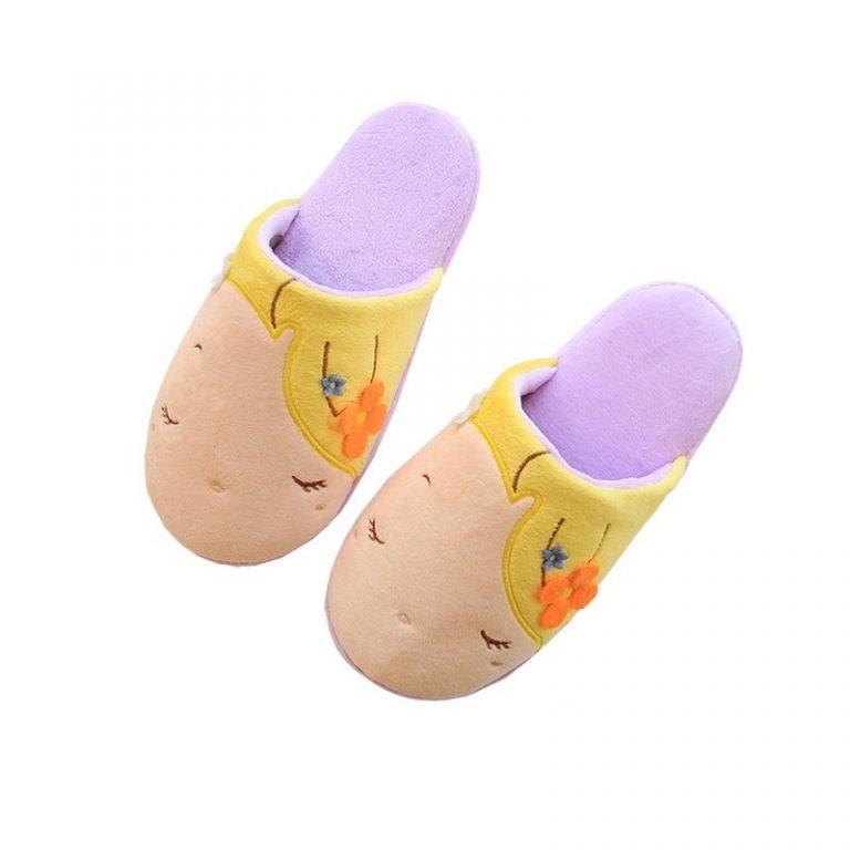 Rapunzel slippers 1