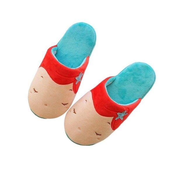Ariel slippers 2