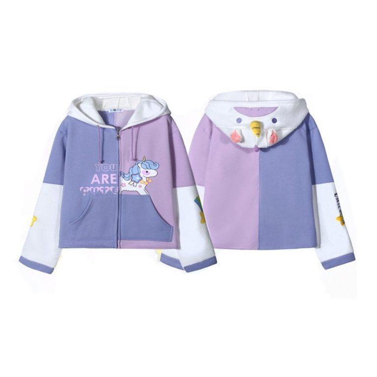 Unicorn Hooded Sweatshirt 1