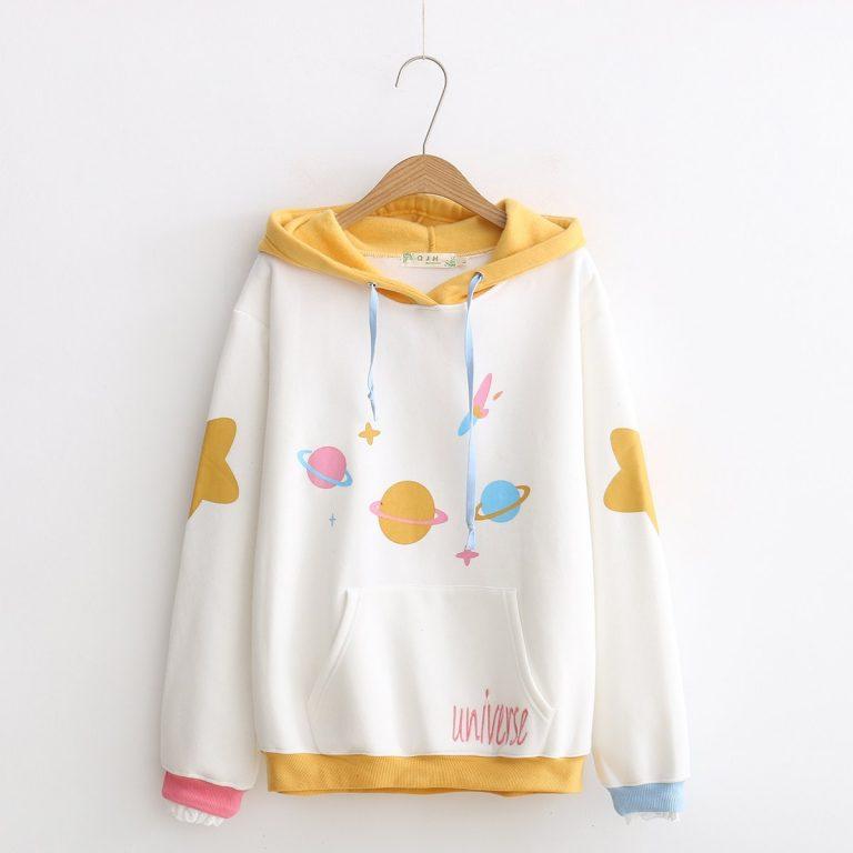 Universe Sweatshirt Hood 1