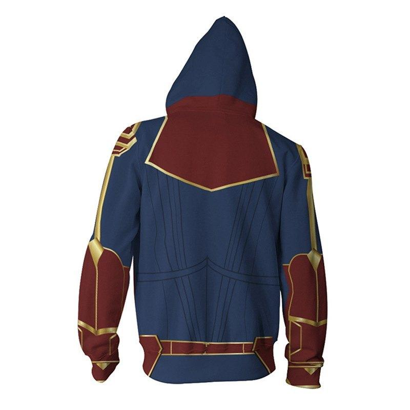 Sudadera de Capitana Marvel 9