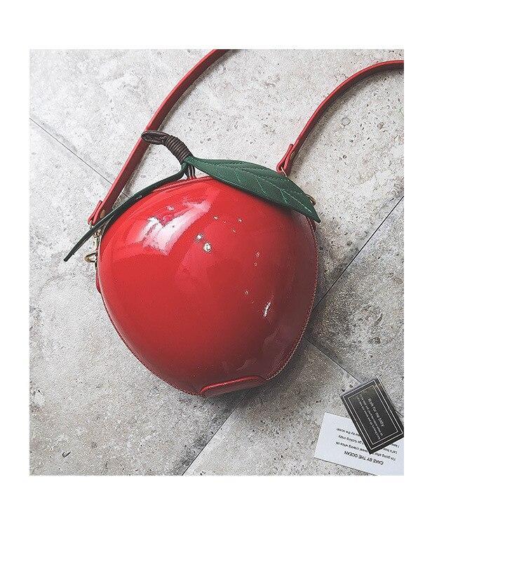 Bolso manzana roja Blancanieves 4