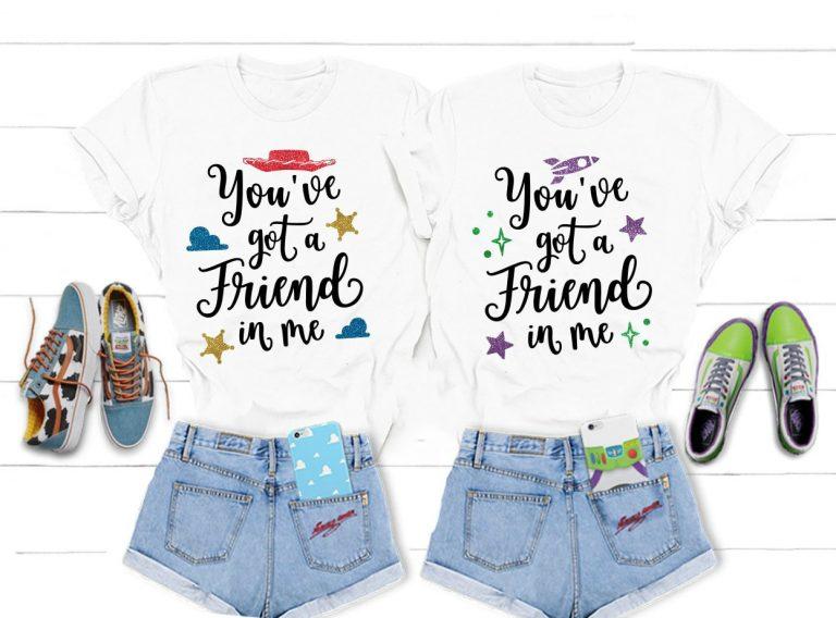 Camiseta Hay un amigo en mí Toy Story 2