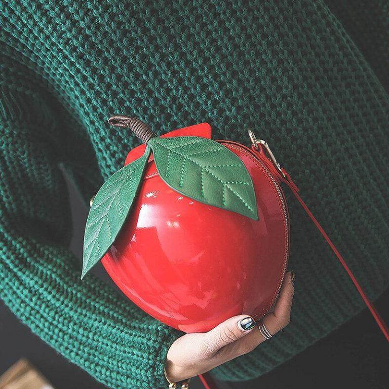Bolso manzana roja Blancanieves 1