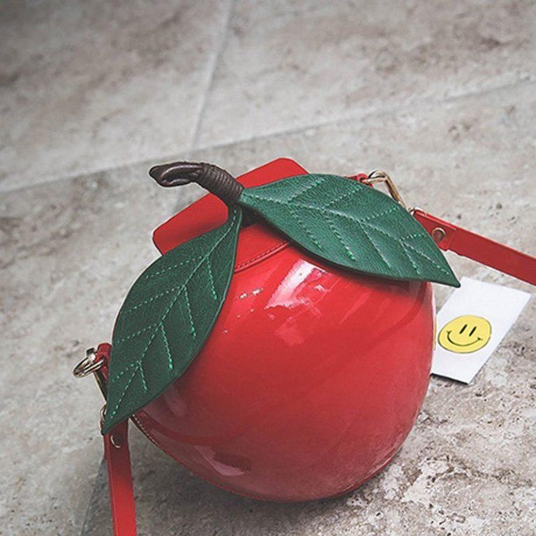 Bolso manzana roja Blancanieves 2