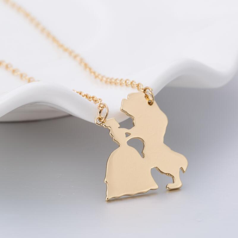 Pendant of Beauty and the Beast 1