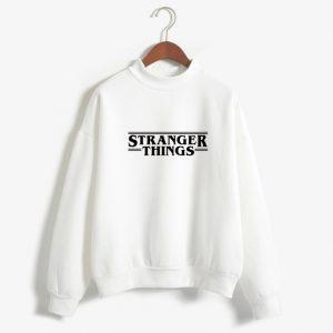 White sweatshirt Stranger Things Netflix