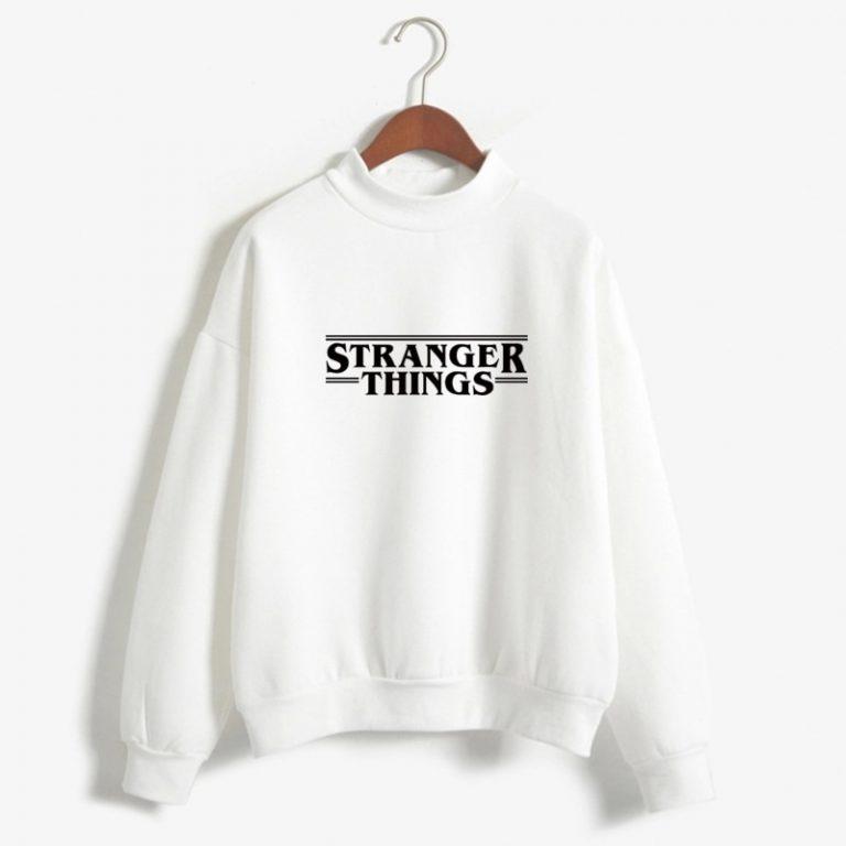 Sudadera blanca Stranger Things Netflix